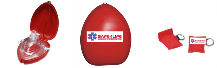 Pocketmasks og lifekeys fra Safe4life